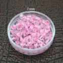 Bead, Seed beads, Glass, pink, Disc shape, 2mm, 25g, 1650 Beads, (SSZ032)
